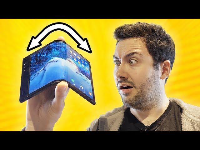 Je teste le 1er Smartphone Pliable et Flexible !