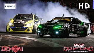 Demon Energy D1NZ Drifting Highlights: Round 2 - Mt Smart Stadium, Auckland 2014