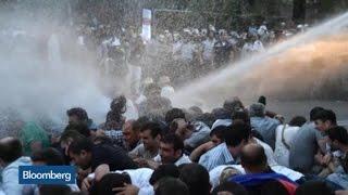 Photos: Armenians Protest Electricity Price Rise