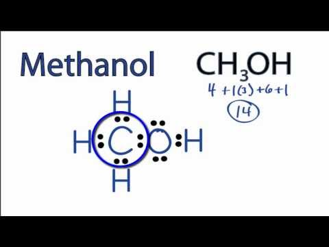 Methanol Lewis Structure: How to Draw the Lewis Structure for Methanol