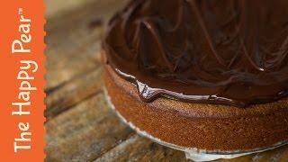 Jumbo Jaffa Cake - Giant Vegan Dessert