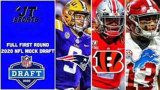 Full First Round 2020 NFL Mock Draft 1.0 | NFL Mock Draft | NFL
