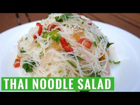 Easy Summer Thai Noodle Salad Recipe - Yum It