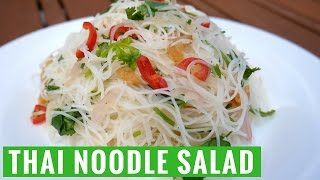 Video Easy Summer Thai Noodle Salad Recipe - Yum It download MP3, 3GP, MP4, WEBM, AVI, FLV Oktober 2018
