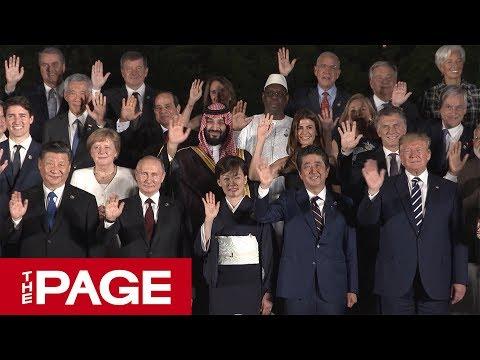 G20サミット1日目が終了 迎賓館で歓迎行事と夕食会が開かれる(2019年6月28日)