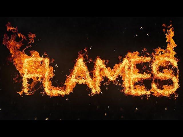 Photoshop Tutorial: Fire Text Effect (CC 2018)
