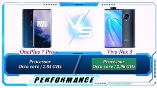 ONEPLUS 7 PRO VS VIVO NEX 3 Specs Comparison