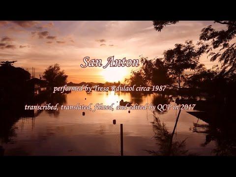 """San Anton"" by Tresa Rdulaol with Lyrics & Translation"
