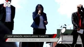 HDP BİNGÖL ADAYLARINI TANITTI 2015