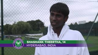 In the footsteps of champions - HSBC Road to Wimbledon 2015 Day 3