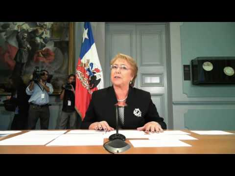 Keynote Interview: Michelle Bachelet Jeria, president of Chile