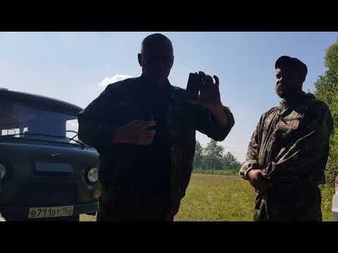 Проверка на Охоте, проверяющие пьяные. Нижегородская область Богородский район д Венец.