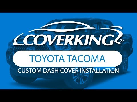How To Install 2016-2020 Toyota Tacoma Custom Molded Dash Cover | COVERKING®