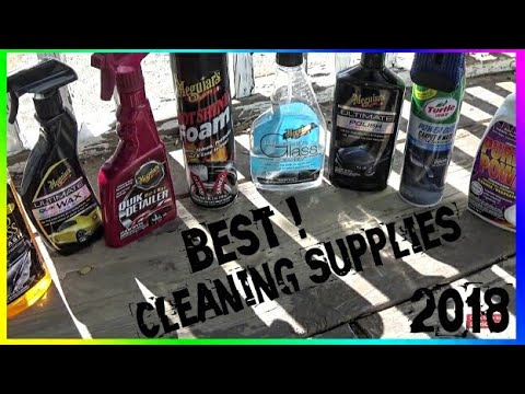 2018 Top Car Cleaning Products | Best Car Cleaning Products [MUST WATCH]