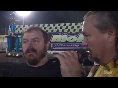 Moler Raceway Park | 8.28.15 | The DRC Crazy Compacts | Feature Winner | King Chris Shelton