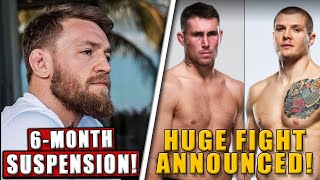 Conor McGregor FACING possible 6-month medical suspension, Darren Till vs Marvin Vettori,Askren-Paul