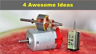 4 Awesome DC Motor project compilation
