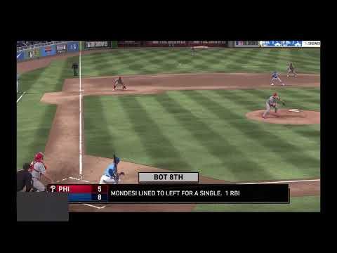 GAME 38 PHILADELPHIA PHILLIES AT KANSAS CITY ROYALS THE MLB SEASON 3 2019