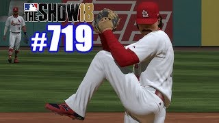 FIRST MLB WIN AS A PITCHER! | MLB The Show 18 | Road to the Show #719