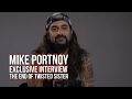 Capture de la vidéo Mike Portnoy: The Emotional Ending To Twisted Sister's 'amazing Career'