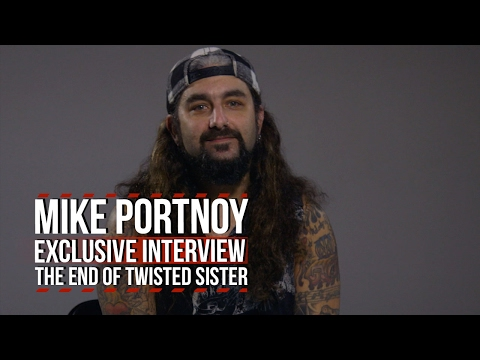 Mike Portnoy: The Emotional Ending to Twisted Sister's 'Amazing Career'