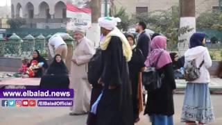 توافد مريدى الطرق الصوفية استعدادا لإحياء ذكرى استقرار رأس «الحسين» ..فيديو وصور
