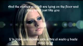 Avril Lavigne -  When Your Gone (subtitulada en ingles y español)