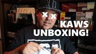 New KAWS Pickup + Rare Unreleased Kanye West Sample Sneaker