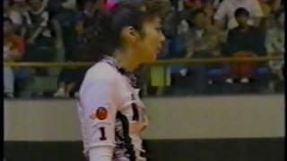 Hiroshima Asian Championships 1994 CHN JPN 2 Pan wen Li 藩文莉