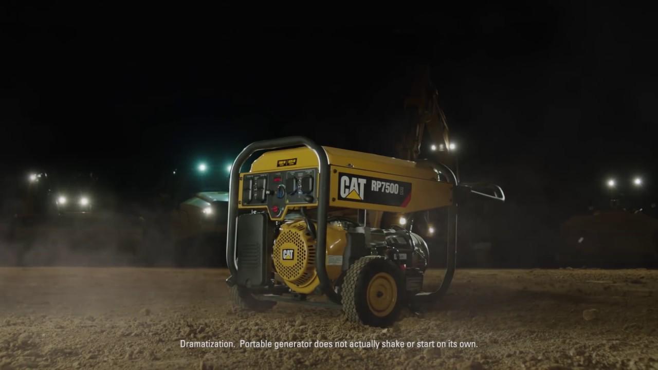 Cat® Portable Generators   Quinn Company