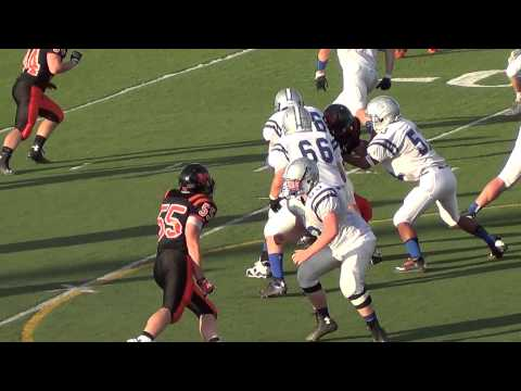 Josh Thomas Interception v Rapid City Stevens