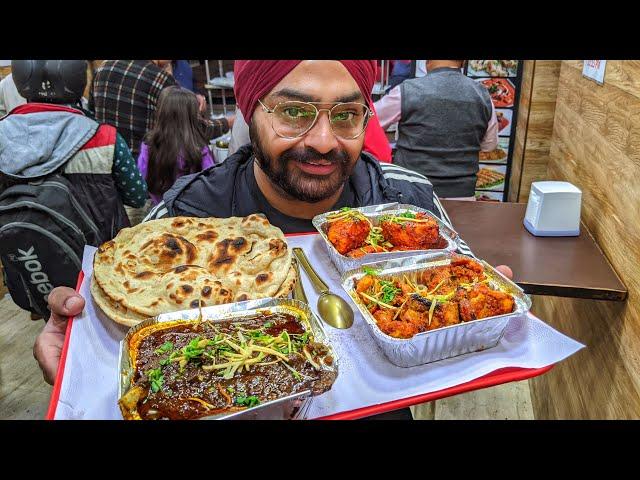 Rohini wale Sardar Ji ka Saag Meat