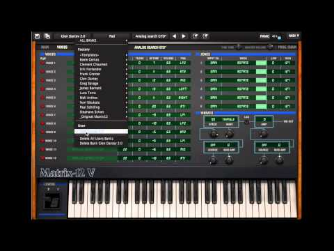 Arturia Matrix 12 V tutorial part 2