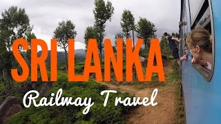 Sri Lanka: Nuwara Eliya to Ella Train | GoPro