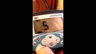 Настройка металлоискателя x-terra 705.