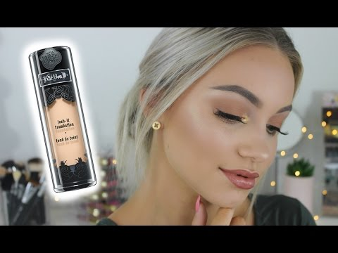 KAT VON D LOCK IT FOUNDATION // First Impression
