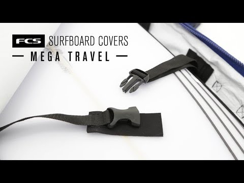 FCS Travel Mega Surfboard Cover
