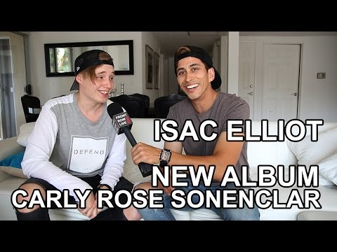 Isac Elliot talks New Album & Carly Rose Sonenclar w/ @RobertHerrera3