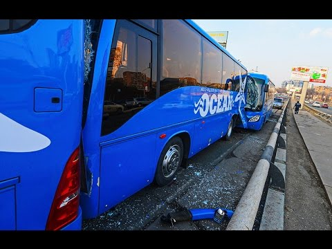 Bus Crashes, Tram Crashes, Trolleybus Crashes compilation 2016 Part 4