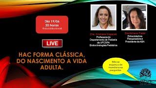 Gravação da Live com Dra Cristiane Kopacek e Dra Adriana Fadel -  ABA
