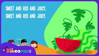 Watermelon Song for Kids | Fruit Songs for Children | Food Songs | The Kiboomers
