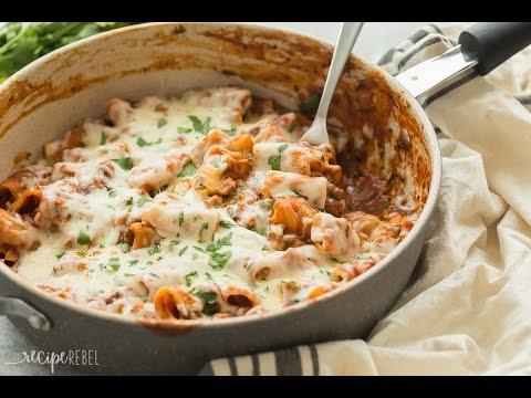 One Pot Baked Ziti With Italian Sausage Recipe