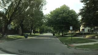 Driving to Troy, Michigan from Detroit, Michigan