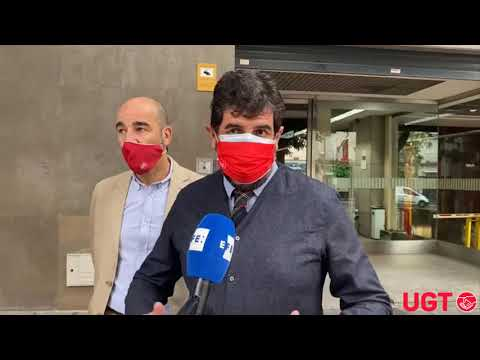 Bernardo García en el juicio contra Glovo por vulneración de la libertad sindical