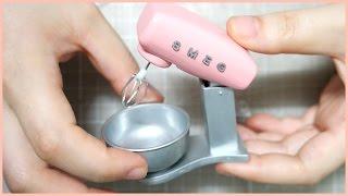 DIY Miniature Real Smeg Mixer …