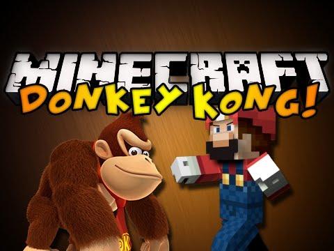 Minecraft Mini-Game: DONKEY KONG! (HD)
