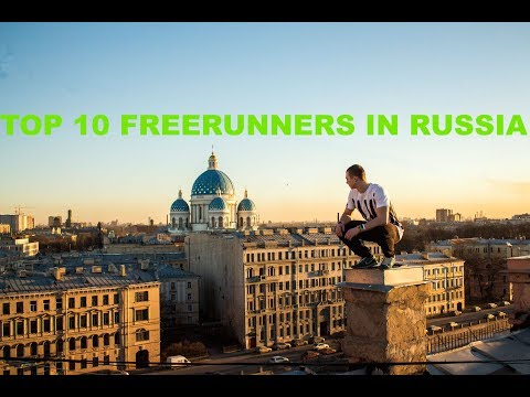 TOP 10 FREERUNNERS IN RUSSIA