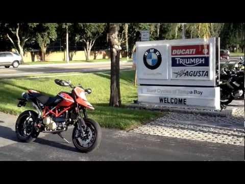 2011 DUCATI HYPERMOTARD 1100 SP EVO Motorcycle