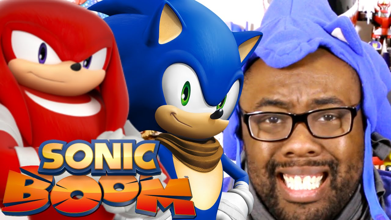 SONIC BOOM CARTOON & GAMES REVIEW : Black Nerd
