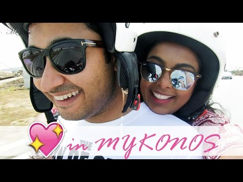 A Dinner Date In Mykonos - Greece Travel Vlog 2 - Summer2016 -MrJovitaGeorge